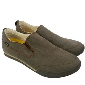Cat Caterpillar Jed Canvas Slip On Shoes